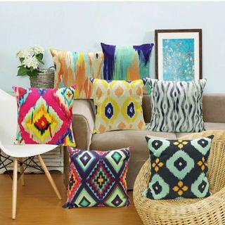 Raya sale Instock Ikat series Cushion Covers