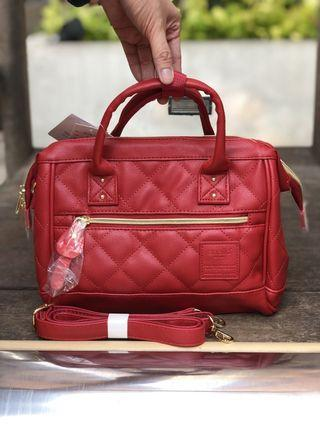 Authentic Anello Quilted Boston Sling