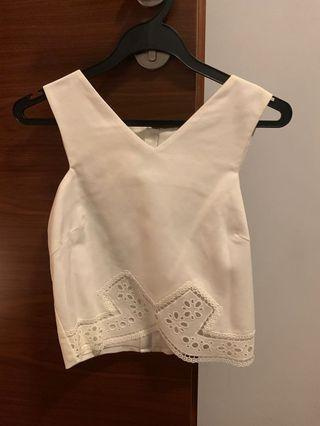 🚚 The closet lover white top