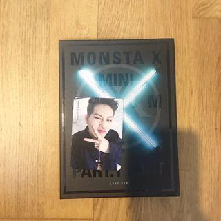 MONSTA X THE CLAN PART.1 LOST lost ver. Price: RM70