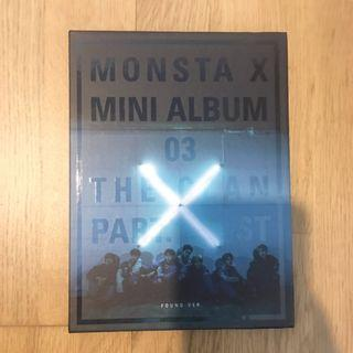 MONSTA X THE CLAN PART.1 LOST found ver. without Photocard!
