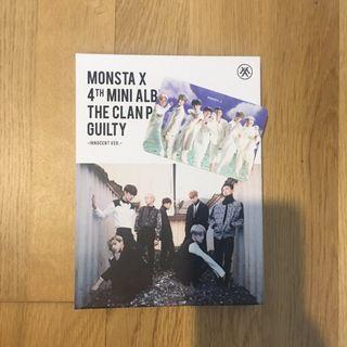 MONSTA X THE CLAN PART.2 GUILTY innocent ver.