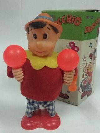 懷舊香港收藏 80年代 小木偶上練公仔