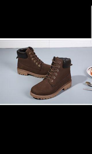 Timberland inspired brown Boots