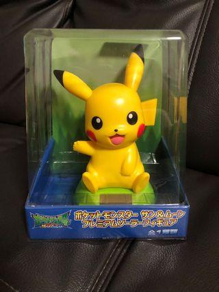 Pokémon Sun & Moon Pikachu Solar Figure from Toreba Japan