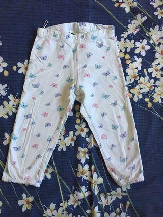 H&M baby girl legging 2y