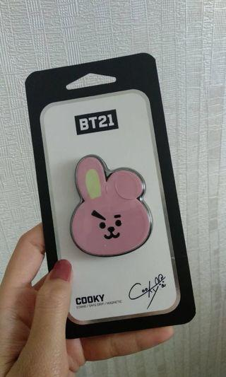 Cooky BT21 safe/Griptok Official 100% No abal2