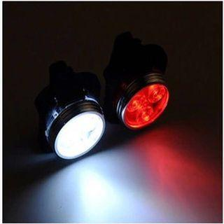 🚚 USB Rechargeable Bicycle Head Tail Light