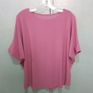 Mauve Pink Oversized Top