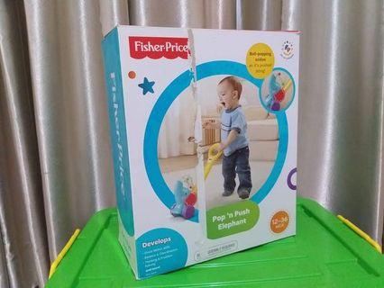 Fisher push walker