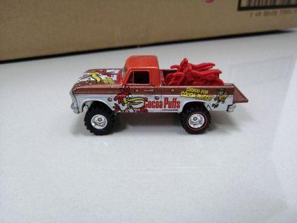 Hotwheels Ford Texas Drive Cocoa Puffs