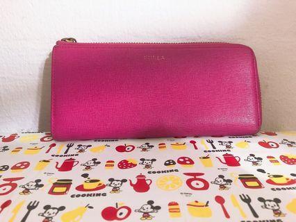 Authentic Pink Furla Long Wallet