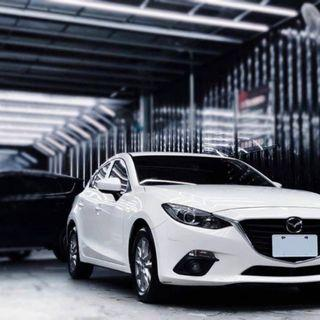 16年 Mazda 3 混動馬三 五門 年輕人最愛 內外漂亮 跟新車一樣