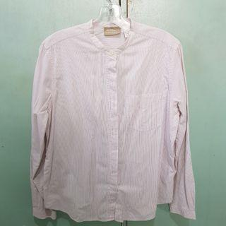 Liz Claiborne Pink Stripes Long Sleeves