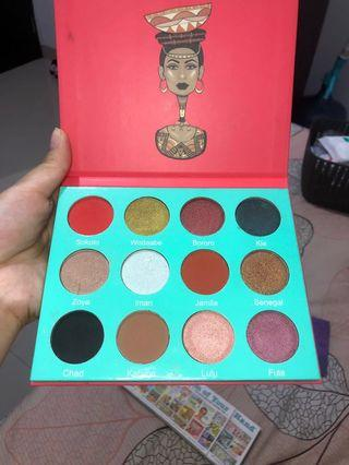 Eyeshadow the saharan by juvia's
