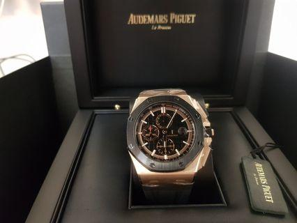 AP Royal Oak Offshore Novelty Rose Gold Brand New