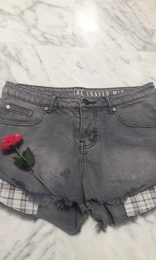 🖤Black Denim Shorts