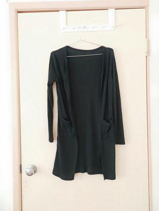 simple must have black long good for autumn spring