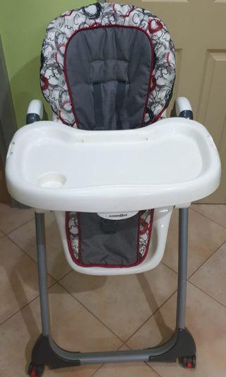 🚚 Baby High Chair, feeding center chaise haute