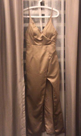 Dinner Dress - Gold