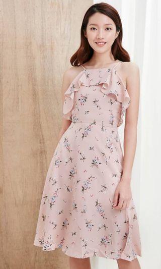 Digital print Flutter Dress