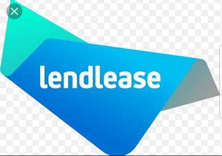 🚚 5 percent off Lendlease voucher