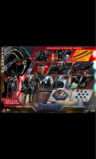 首日單 13/4 Hottoys 1:6 鷹眼 浪人 珍藏人偶 豪華版 Deluxe Version Hawkeye Ronin Avengers 4 End Game 復仇者聯盟 終局之戰