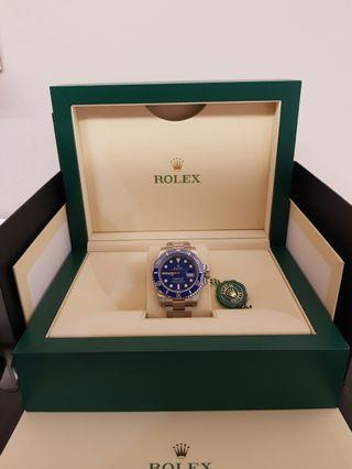 Rolex Submariner Smurf White Gold 116619LB