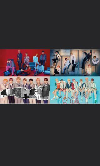 WTS BTS LY ANSWER POSTERS