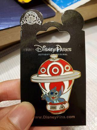迪士尼襟章Disney pin hot air balloon