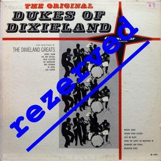 dukes of dixieland Vinyl LP used, 12-inch, may or may not have fine scratches, but playable. NO REFUND. Collect Bedok or The ADELPHI.