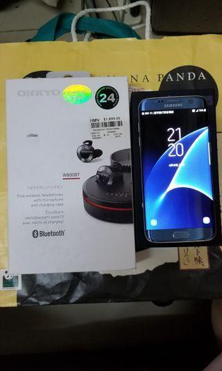 Samsung Galaxy S7edge.+ONKYO W800BT