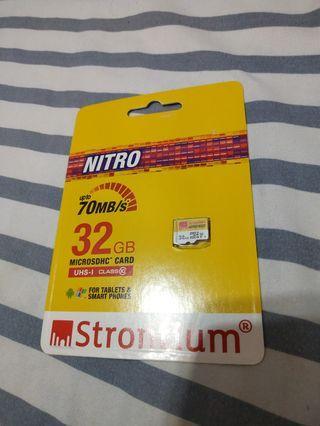 Strontium Nitro 32gb Micro SD Card