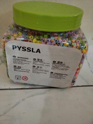 🚚 IKEA PYSSLA beads