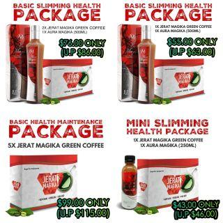 Jerat Magika & Aura Magika Health Package