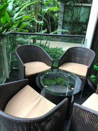 🚚 Outdoor furniture - 5 piece set