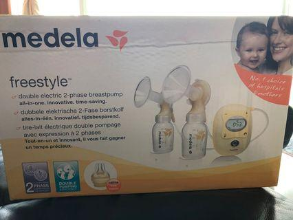 🚚 Medela Freestyle Dual Breast pump
