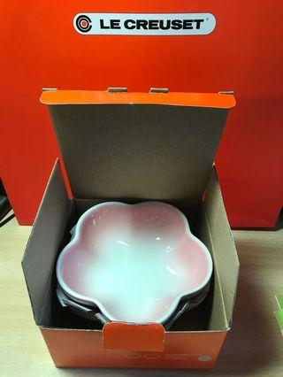 Le Creuset 花碟 small flower dish 2 隻