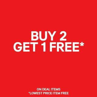 [Event] ashchan's Buy 2 Free 1 Promotion: Valid 2 - 30th April 2019
