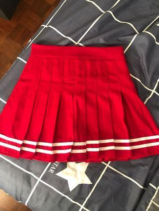 🚚 red tennis skirt!! #EndgameYourExcess