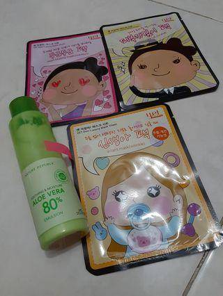 Emulsion & sheet mask