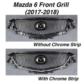 Mazda 6 Honeycomb Front Grill Replacement - Diamond/ Star Version