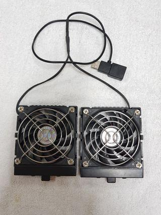 Cooling Fan Twin (Clip on)