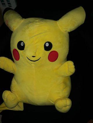 Big Pikachu Soft Toy