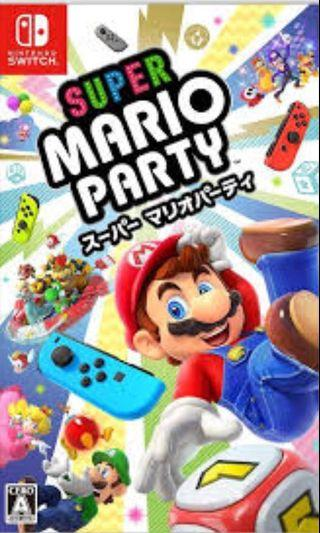 Switch games Mario party Mario kart hold 大亂鬥