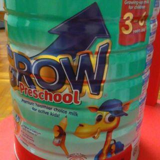 1.8kg 3-6 Yrs Abbott Grow Preschool Milk Powder
