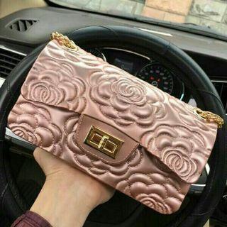Rose Clutch Elegant Evening Bag