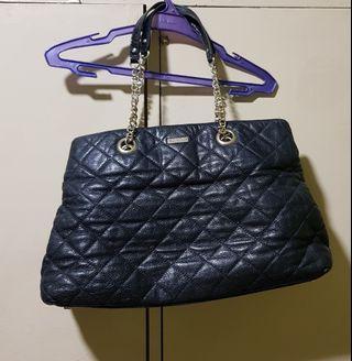 Kate Spade Quilted black bag