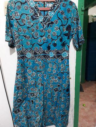 Dress batik tulis tuban