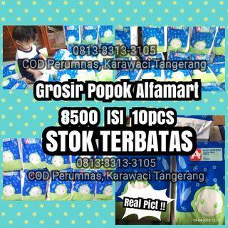 RESTOK - Baby diapers 8500 isi 10 (popok bayi merk Alfamart)